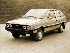 Jeden z dwóch przedprototypów Poloneza, na bazie którego powstało później Coupe